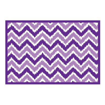 Mix N Match Zig Zag Purple Area Rug