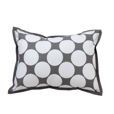 Mix N Match Dec Cotton Throw Pillow Color: Grey