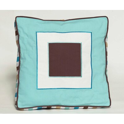 Mod Diamonds and Stripes Decorative Pillow