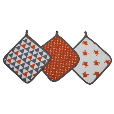 Playful Fox Wash Cloth