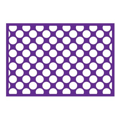 Mix N Match Purple Area Rug