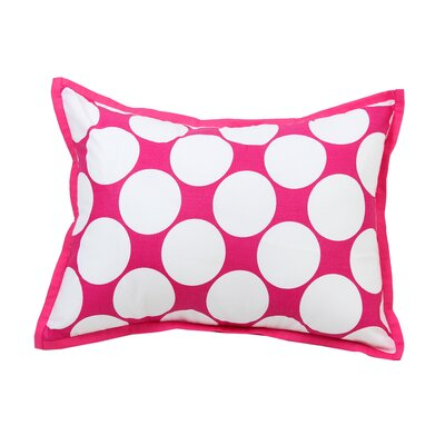 Mix N Match Dec Cotton Throw Pillow Color: Pink