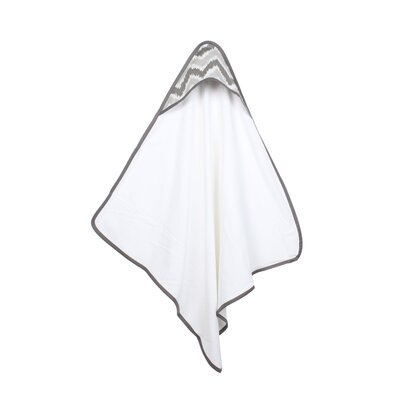 Mix N Match Hooded Bath Towel Color: Grey