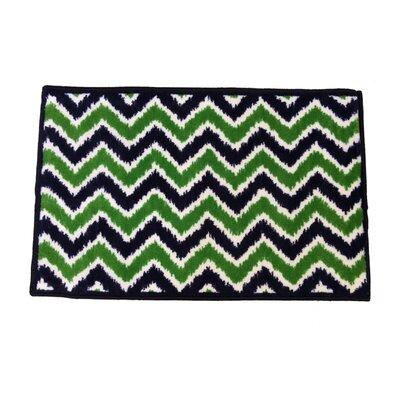 Mix N Match Navy / Green Area Rug