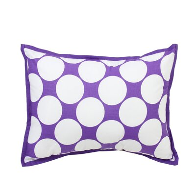 Mix N Match Dec Cotton Throw Pillow Color: Purple