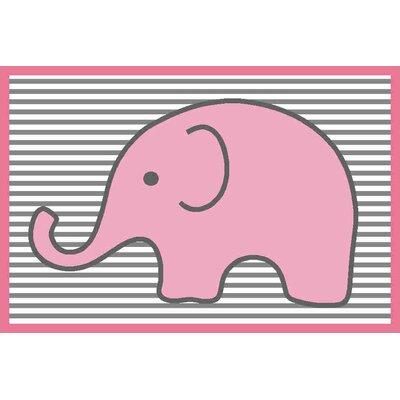 Yasmeen Pink/Grey Kids Rug