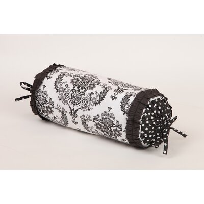 Classic Damask Cotton Bolster Pillow