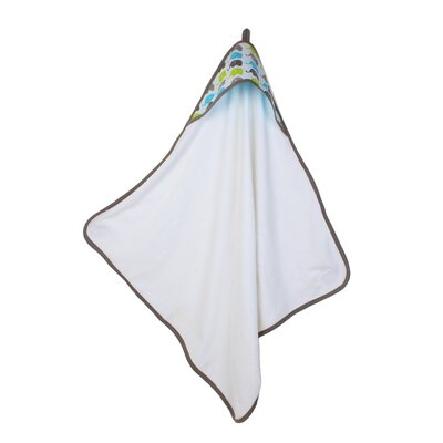 Yasmeen Bath Towel Color: Aqua/Lime/Grey
