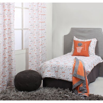 Basketball 4 Piece Toddler Bedding Set BKOG4TB