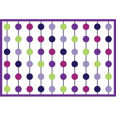 Botanical Purple Area Rug