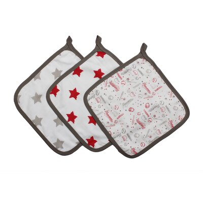 Baseball 3 Piece Wash Cloth Set
