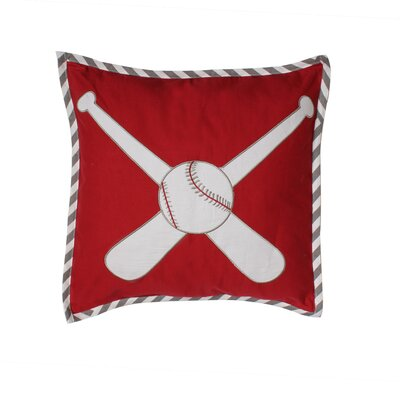 Baseball Dec Cotton Lumbar Pillow