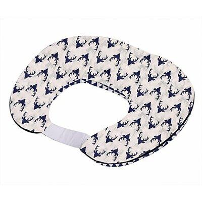 Tribal Bucks Triangles Muslin Nursing 100% Cotton Pillow Cover