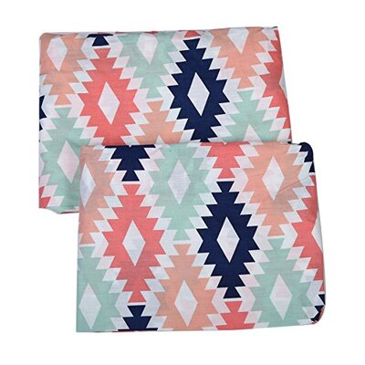 Emma Aztec Fitted Crib Sheets