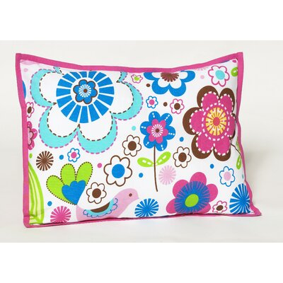 Bainter Decorative Cotton Throw Pillow Color: Pink