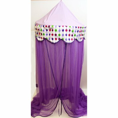 Bainter Bed Canopy Color: Purple