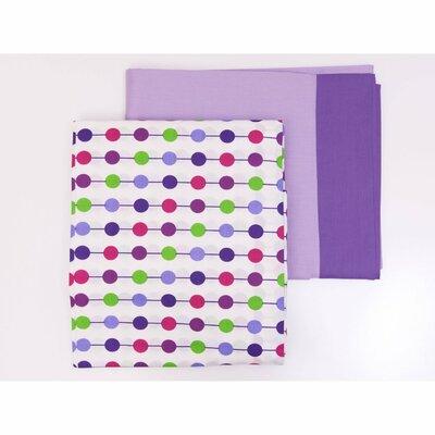Bacati Botanical Sanctuary Sheet Set - Size: Full, Color: Purple at Sears.com