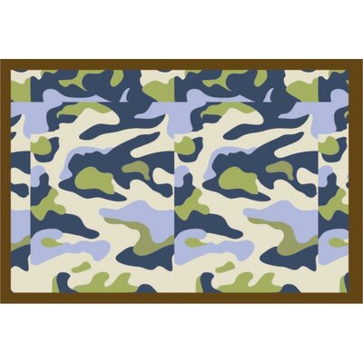 Camo Air Area Rug Rug Size: Rectangle 2 x 3