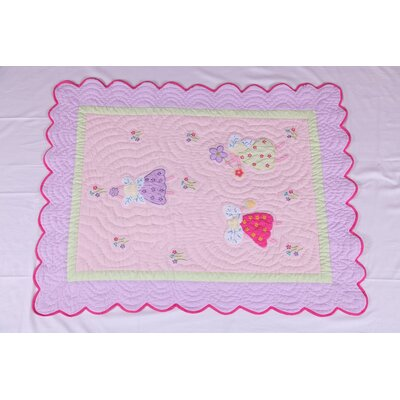 Fairyland Oversize Toddler Bed Quilt