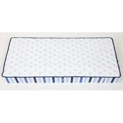 Bacati Little Sailor Changing Pad Cover BILSCPC