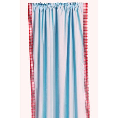 Bacati Boys Stripes Cotton Rod Pocket Curtain Single Panel at Sears.com