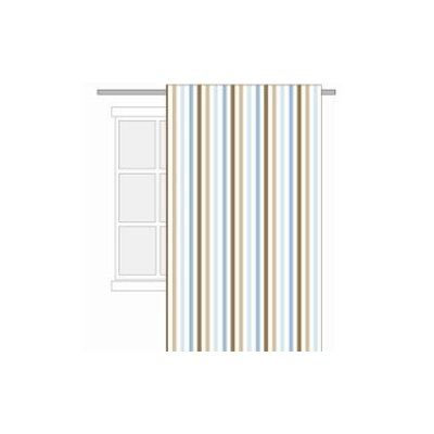 Bacati Mod Diamonds and Stripes Cotton Rod Pocket Curtain Single Panel at Sears.com