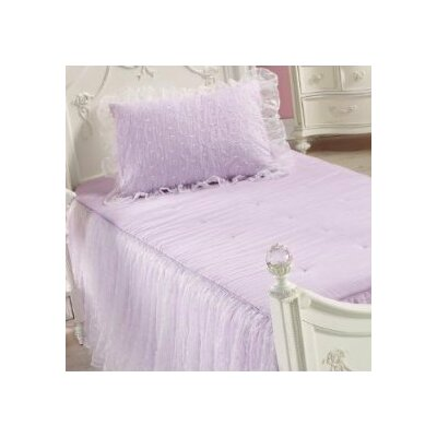 Rudolph Ball Gown 3 Piece Comforter Set Color: Lilac
