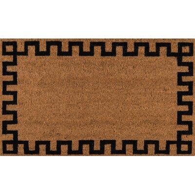 Park Greek Key Hand Woven Doormat