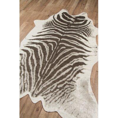 Acadia Zebra Grey Area Rug