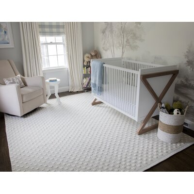 Langdon Windsor Hand-Woven Wool Grey Area Rug Rug Size: Rectangle 39 x 59