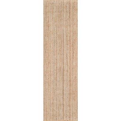 Westshore Waltham Hand-Woven Wool Brown Area Rug Rug Size: Runner 23 x 8