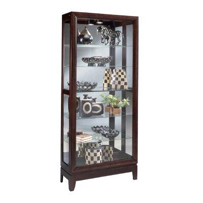 Urbane Lighted Curio Cabinet