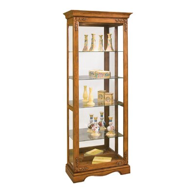 Andante II Lighted Curio Cabinet