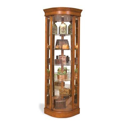 Auberge Corner Curio Cabinet Finish: Old Oak