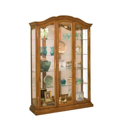 La Grange Lighted Curio Cabinet