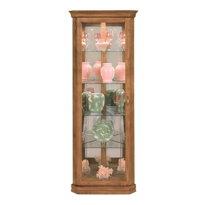 Lighthouse Tempo II Lighted Corner Curio Cabinet
