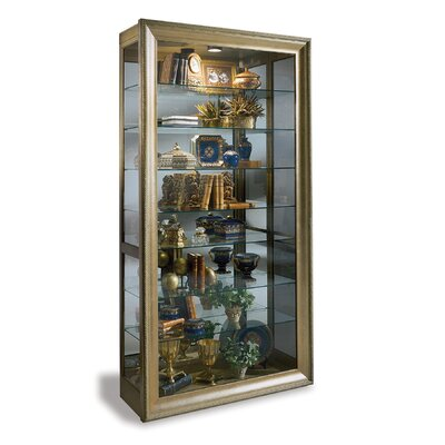 Vermeer Lighted Curio Cabinet