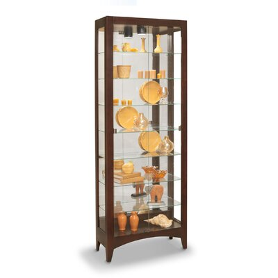 Simplicity Lighted Curio Cabinet