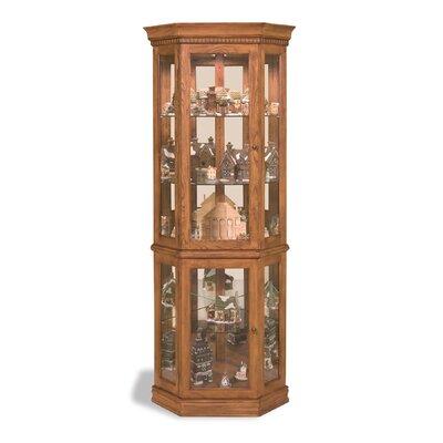 Lighthouse Classic Corner Curio Cabinet