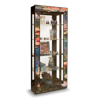 ArtWorks Water Lilies Curio Cabinet