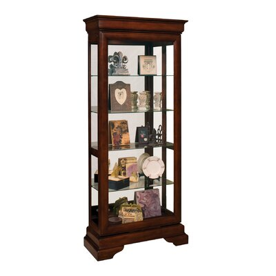 Avignin Lighted Curio Cabinet