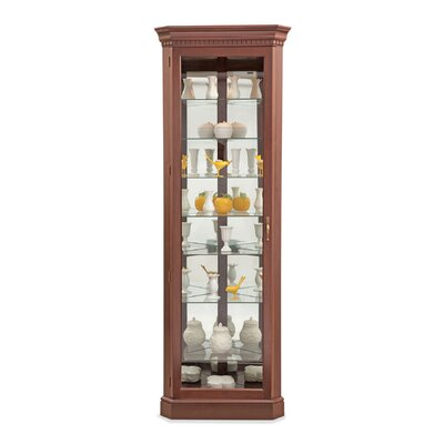 Lighthouse Octave III Lighted Corner Curio Cabinet
