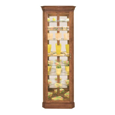 Lighthouse Octave Lighted Corner Curio Cabinet