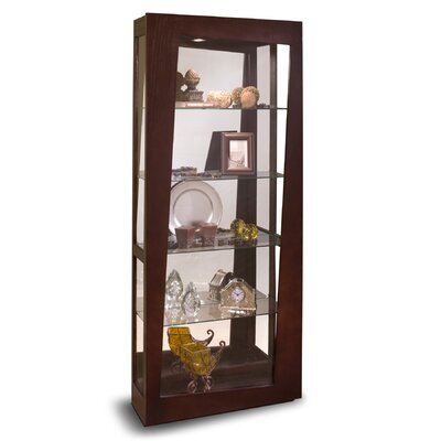 Lynx Lighted Curio Cabinet