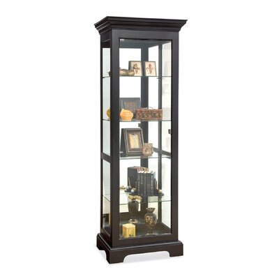 Newport Lighted Curio Cabinet