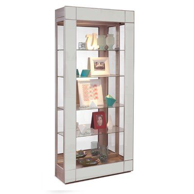 Halo Entertainment Center Color: Sea Glass/Metallic Silver