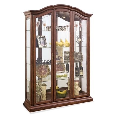 Oxford Lighted Curio Cabinet