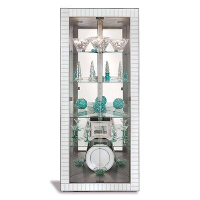 Halo Corner Curio Cabinet