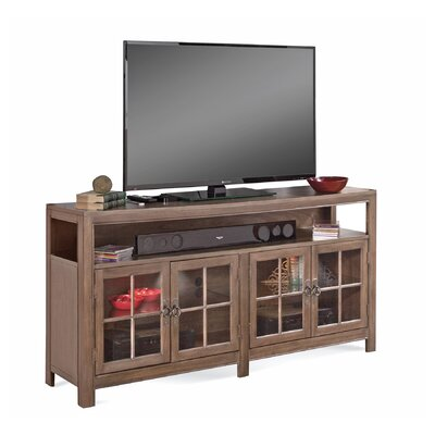 ColorTime Saybrook 66 TV Stand Color: Rustic Oak