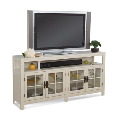 ColorTime Saybrook 66 TV Stand Color: Sandshell White
